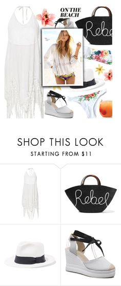 """Boho: On The Beach"" by beebeely-look ❤ liked on Polyvore featuring Eugenia Kim, Iris & Ink, boho, beach, Bohemian, beachstyle and twinkledeals"