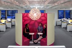 Ending the Tyranny of the Open-Plan Office Office Space Planning, Open Space Office, Office Space Design, Workspace Design, Office Interior Design, Office Spaces, Work Spaces, Small Spaces, Office Lounge
