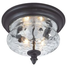 Found it at Wayfair - Ardmore 2 Light Flush Mount