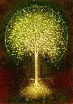 "Saatchi Online Artist: mark duffin; Giclée Print, 2012, Printmaking ""green blossom"""