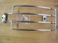 CHR PLATED LUGGAGE RACK FOR HARLEY SOLO SPORTSTERS 85-03
