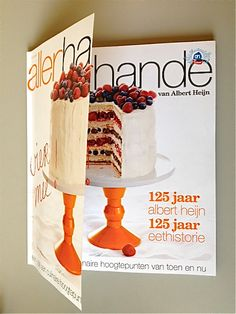 Cover of Allerhande, jubilee magazine of Albert Hein