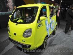 Slideshow : Hydrogen cell powered Tata Magic Iris Ziva - Auto Expo: Tata Motors showcases hydrogen cell powered Tata Magic Iris Ziva - The Economic Times