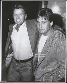 Fotografía de noticias : Emilio Estevez and father Martin Sheen, circa...