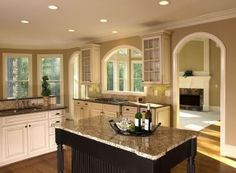 Giallo Verona Granite Kitchen Countertop