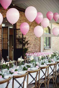 New bridal shower balloons centerpieces wedding ideas ideas Bridal Shower Balloons, Wedding Balloons, Bridal Shower Decorations, Centerpiece Decorations, Wedding Centerpieces, Wedding Decorations, Birthday Table Decorations, Balloon Centerpieces, Pink Balloons