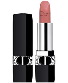 Dior's iconic long-wear lipstick enriched with natural-origin ingredients is now refillable and available in a range of finishes: matte, satin, metallic and velvet.