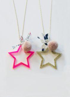 Atsuyo et Akiko Star Necklace