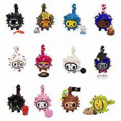 ThinkGeek :: Blind Box tokidoki Cactus Kitties