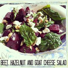 Roasted Balsamic Beet Salad