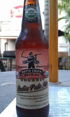 Organic beer? What was I drinking before?