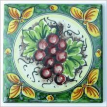 Piastrella, cornice, battiscopa in Ceramica di Caltagirone - Ceramiche Artistiche Agatino Caruso - Ceramica di Caltagirone