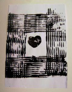 Adinkra printing for kids