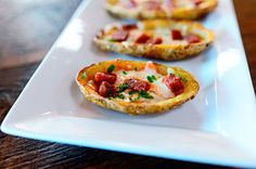 Raise your hand if you love potato skins. ME ME ME ME ME ME ME ME ME ME! Okay, so I think I've established that I love potato skins. I can't help it, man. They're just so 1984! An…