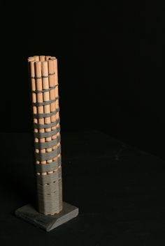 lightning and thunder - red oak and nylon paracord