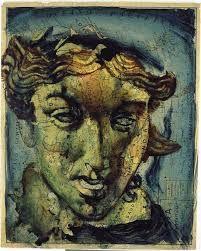 Fernando Vicente: Afrodita Acrílico sobre papel (116x93,5cm)