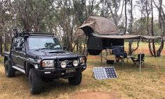 One of the best setups Overland 4runner, Ute Trays, Ford Ranger Wildtrak, Slide In Camper, Pickup Camper, Off Road Trailer, Dream Garage, Toyota Land Cruiser, Offroad