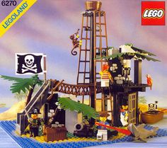 Lego had pirates before they were even cool. We got this for Xmas in 1989!
