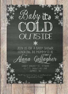 43 best cks bridal shower images on pinterest baby showers baby shower invitation printable baby shower invitation winter baby shower invite snowflake invit fandeluxe Images