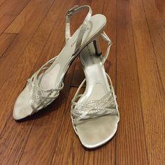 I just added this listing on Poshmark: Sparkling Strappy Heels. #shopmycloset #poshmark #fashion #shopping #style #forsale #Karen Scott #Shoes
