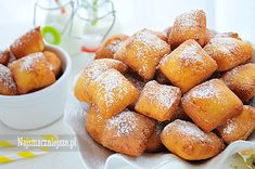Pączki kukurydziane (bez glutenu), pączki, ostatki, karnawał, tłusty czwartek, http://najsmaczniejsze.pl #food #cake #ostatki #pączki