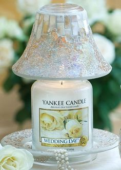 gold and pearl yankee candle