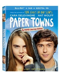 Paper Towns Blu-ray review & giveaway #PaperTownsInsiders | Five Dollar Shake