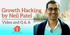 Watch Neil Patel talk about growth hacking at the Pioneers Festival