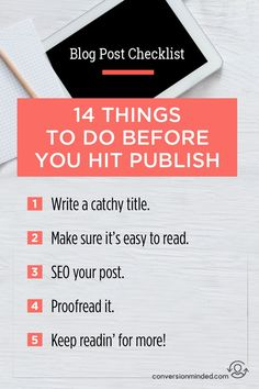 If you're ready to get serious about your blog, but aren't sure about the best ways take to market it, this post is for you! It includes 14 tips for bloggers and entrepreneurs to help your posts get found and shared by more people everywhere.. Click through to check out all the tips!