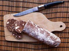 Saucisson au chocolat au Thermomix                                                                                                                                                                                 Plus