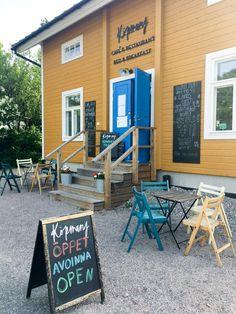 Köpmans Cafe/Restaurant, Nauvo - delicious fish burgers!