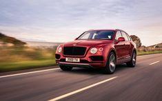 2018 Bentley bentayga V8, front, on road