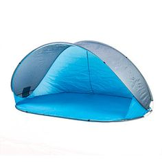Take a break from the hot summer sun with our Blue Beach Pop-Up Shelter. The beachy blue color and easy set-up will make this a must have for your next outing. Pop Up Beach Tent, Blue Beach, Summer Sun, Outdoor Gear, Shelter, Beach Ideas, Easy Storage, Hot, Water