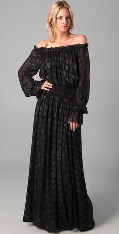 Rachel Zoe Diane Blouson Maxi Dress. My favorite Rachel Zoe Piece!