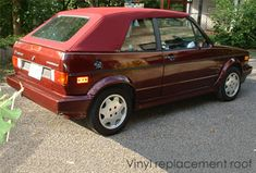 The original online guide to the Volkswagen Cabriolet and Rabbit Convertible! Cabrio Vw, Vw Cabriolet, Volkswagen Caddy, Etienne Aigner, Mk1, Vintage Cars, Dream Cars, Convertible, Euro