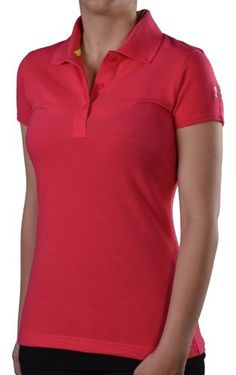 Under Armour Women's UA Core Golf Polo Shirt-Pink « Clothing Adds Anytime Pink Outfits, Fashion Outfits, Golf Stuff, Golf Polo Shirts, New Hobbies, Types Of Fashion Styles, Ua, Under Armour Women, Core