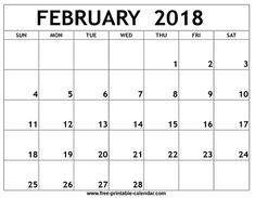 february 2018 calendar craze