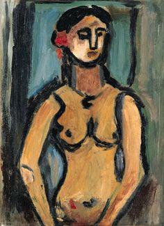 Georges Rouault, Nu (esquisse)