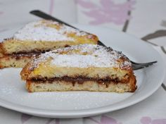 Gluten free french toast filled with nutella - French toast senza glutine alla nutella