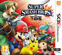Super Smash Bros. 3DS Cover Art
