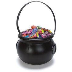 Cauldron Candy Bucket