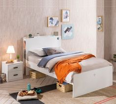 California inspiratie kinderkamer, inspiratie tienerkamer, inspiratie meidenkamer, inspiratie jongenskamer, by mm store Usb, Toddler Bed, Furniture, Home Decor, California, Products, Child Bed, Pool Chairs, Timber Wood