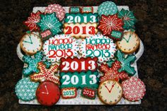 New Year's Eve Cookie by Sugar Cravings