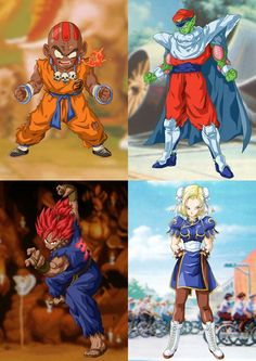 Dragonball Z meets Street Fighter : alternativeart