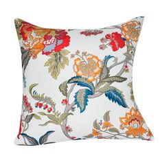 Loom and Mill Floral Throw Pillow, Multicolor