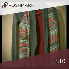 Bundle reserved Gray sweater, LOFT blazer, and button up blouse. Sweaters Shrugs & Ponchos