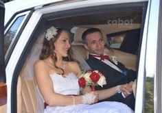 Couple, in a Rolls Royce Phantom