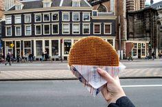 Stroopwafel, a sweet snack in the Netherlands