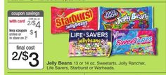 Get Warheads Sour Jelly Beans at Walgreens Only $1.00 with sale and Printable Coupon!