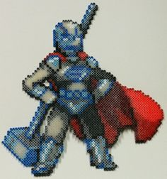 Perler Bead: Steel by thewiredslain.deviantart.com on @DeviantArt